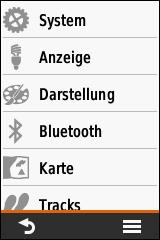 GARMIN eTrex Touch 25/35 - Einstellungen (1 von 4)