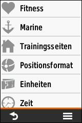 GARMIN eTrex Touch 25/35 - Einstellungen (3 von 4)