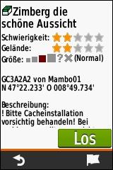 GARMIN eTrex Touch 25/35 - Geocache