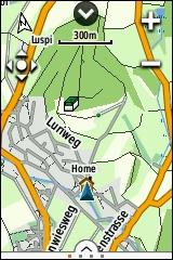 GARMIN eTrex Touch 25/35 - Topografische Europakarte Detail