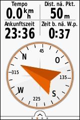 GARMIN eTrex Touch 25/35 - Navigation