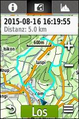 GARMIN eTrex Touch 25/35 - Track Karte